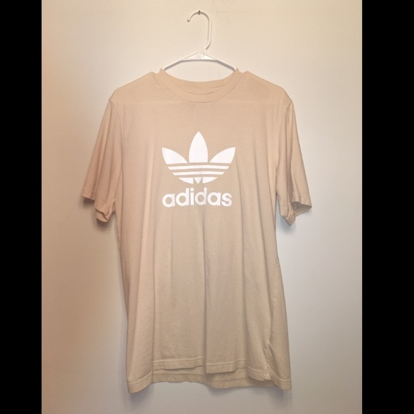 adidas Other - Adidas Originals Trefoil Tee Tan